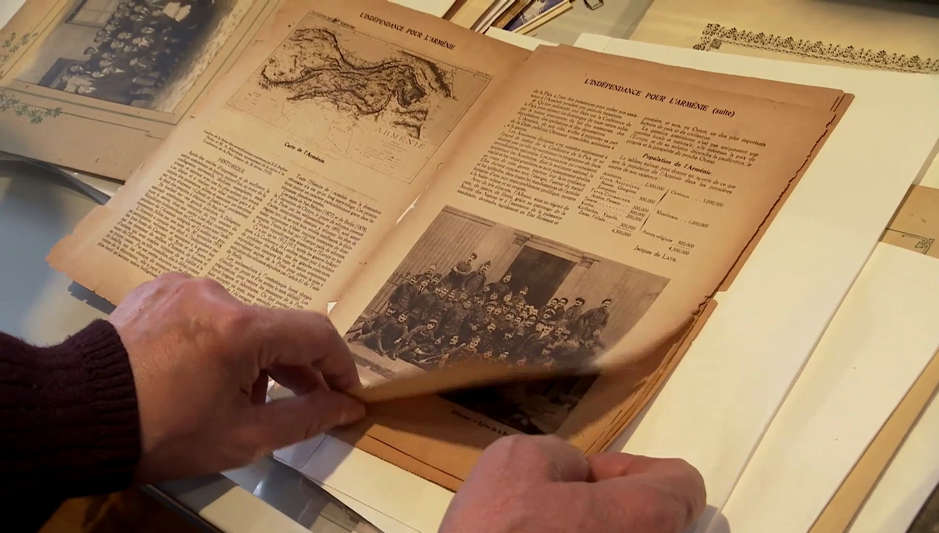 Marseille: les rescapés du génocide de 1915